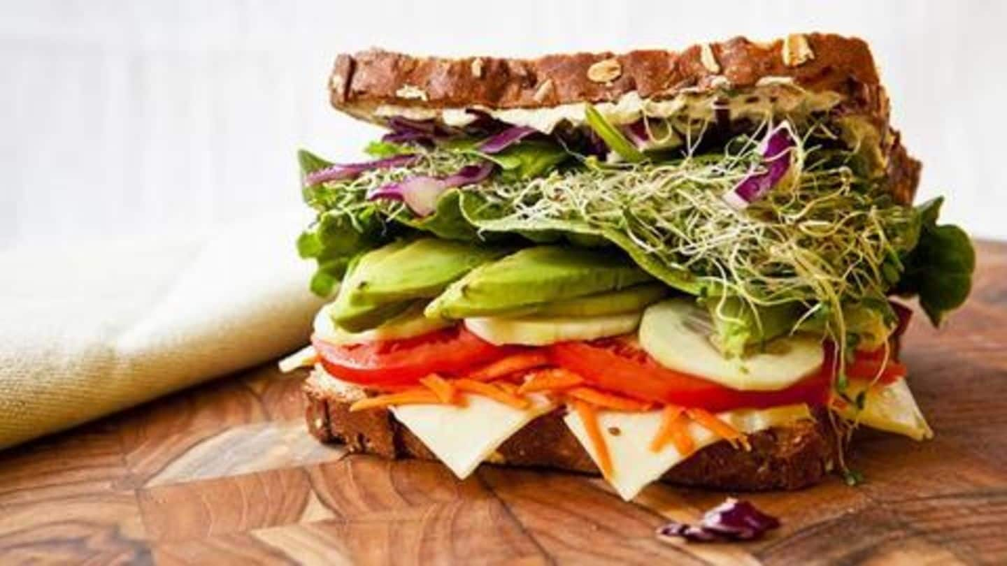 Five Vegetarian Protein Rich Sandwich Recipes Your Kids Will Love Newsbytes