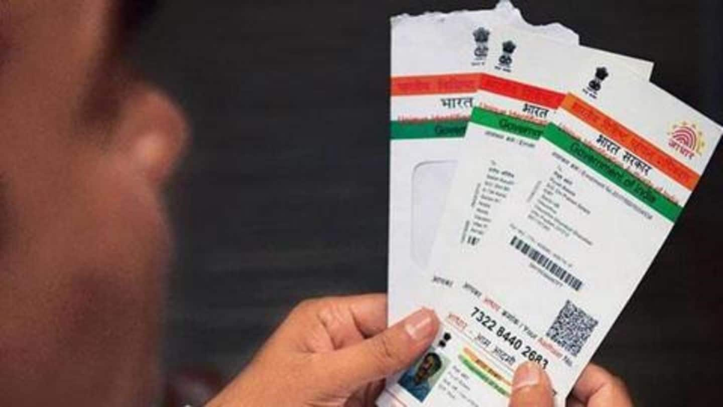 How to change your name after marriage in Aadhaar card