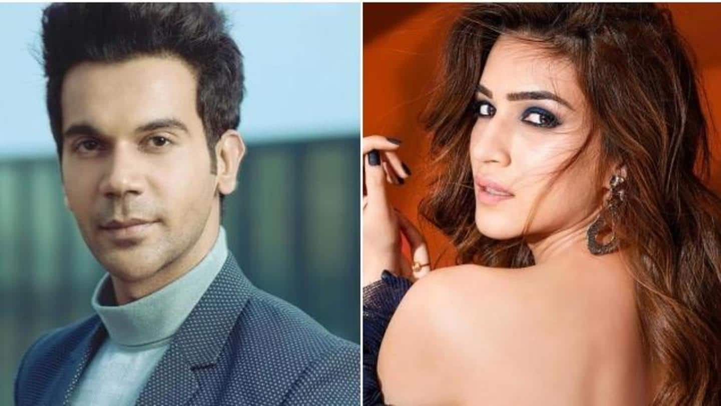 Rajkummar Rao, Kriti Sanon to star together in new movie