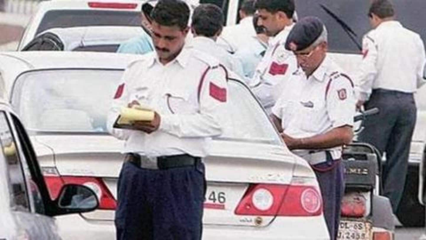 #MotorVehiclesAct2019: Delhi man fined Rs. 23,000 for violating traffic rules