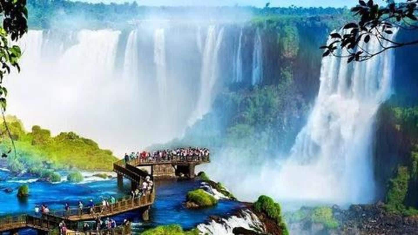 Top five most beautiful waterfalls in the world