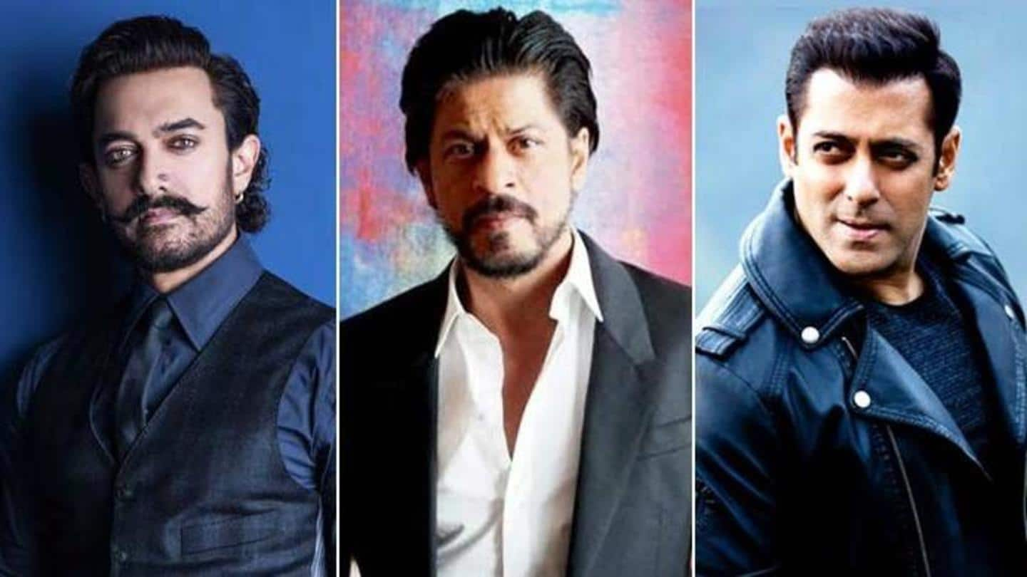 SRK, Salman and Aamir to feature in one movie?