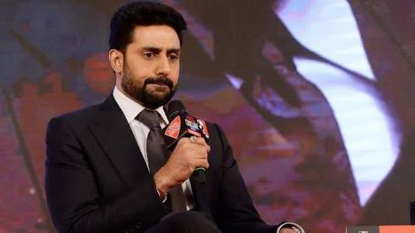 Troll calls Abhishek Bachchan 'unemployed'; actor responds gracefully