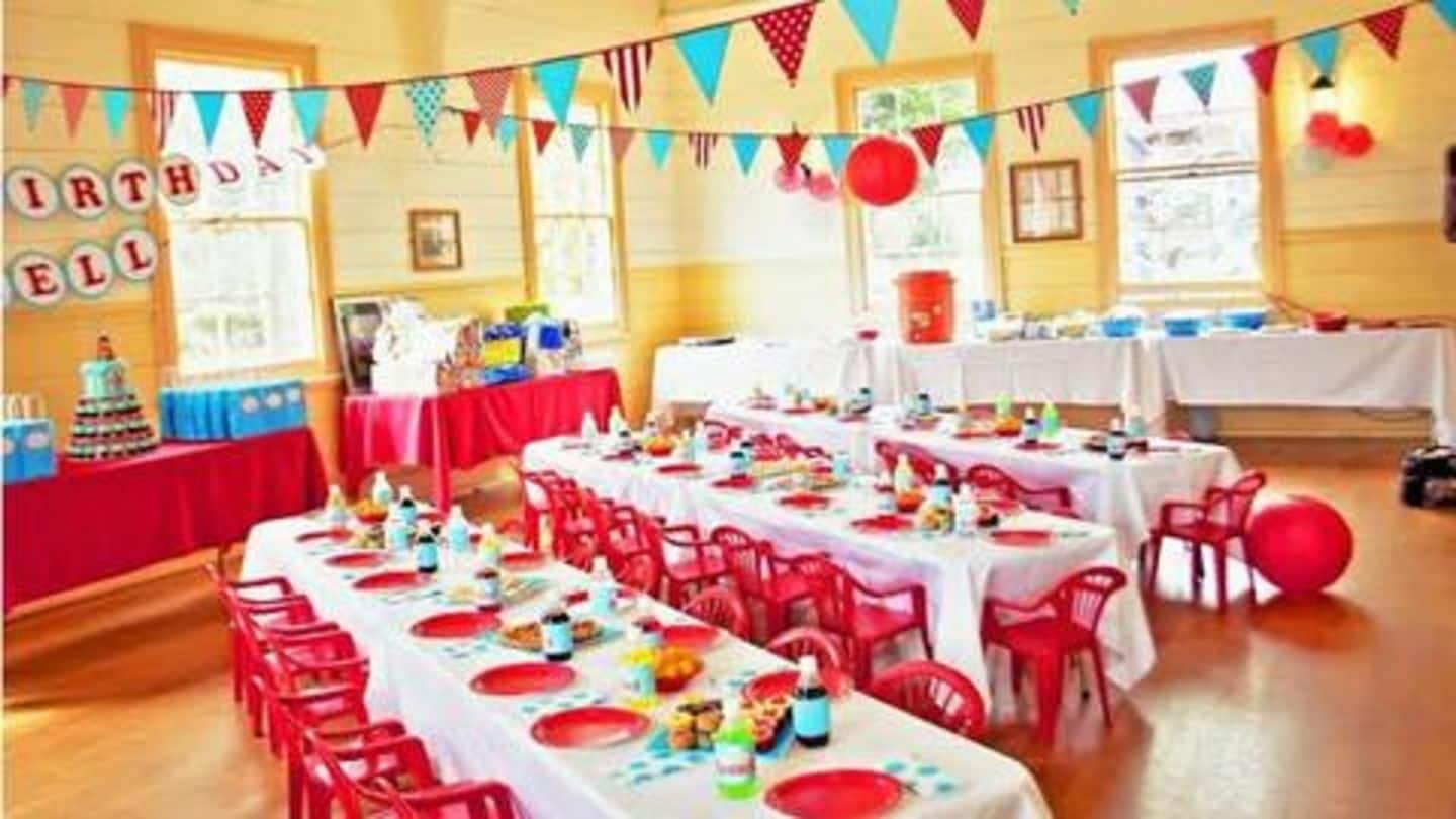 Five Ways To Decorate Your Home For A Birthday Party Newsbytes