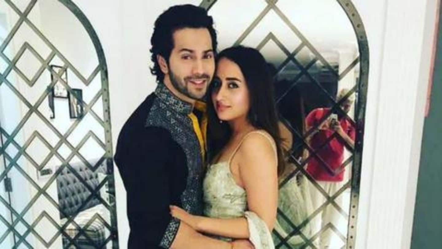 Varun Dhawan quashes rumors of 'roka' with girlfriend Natasha Dalal