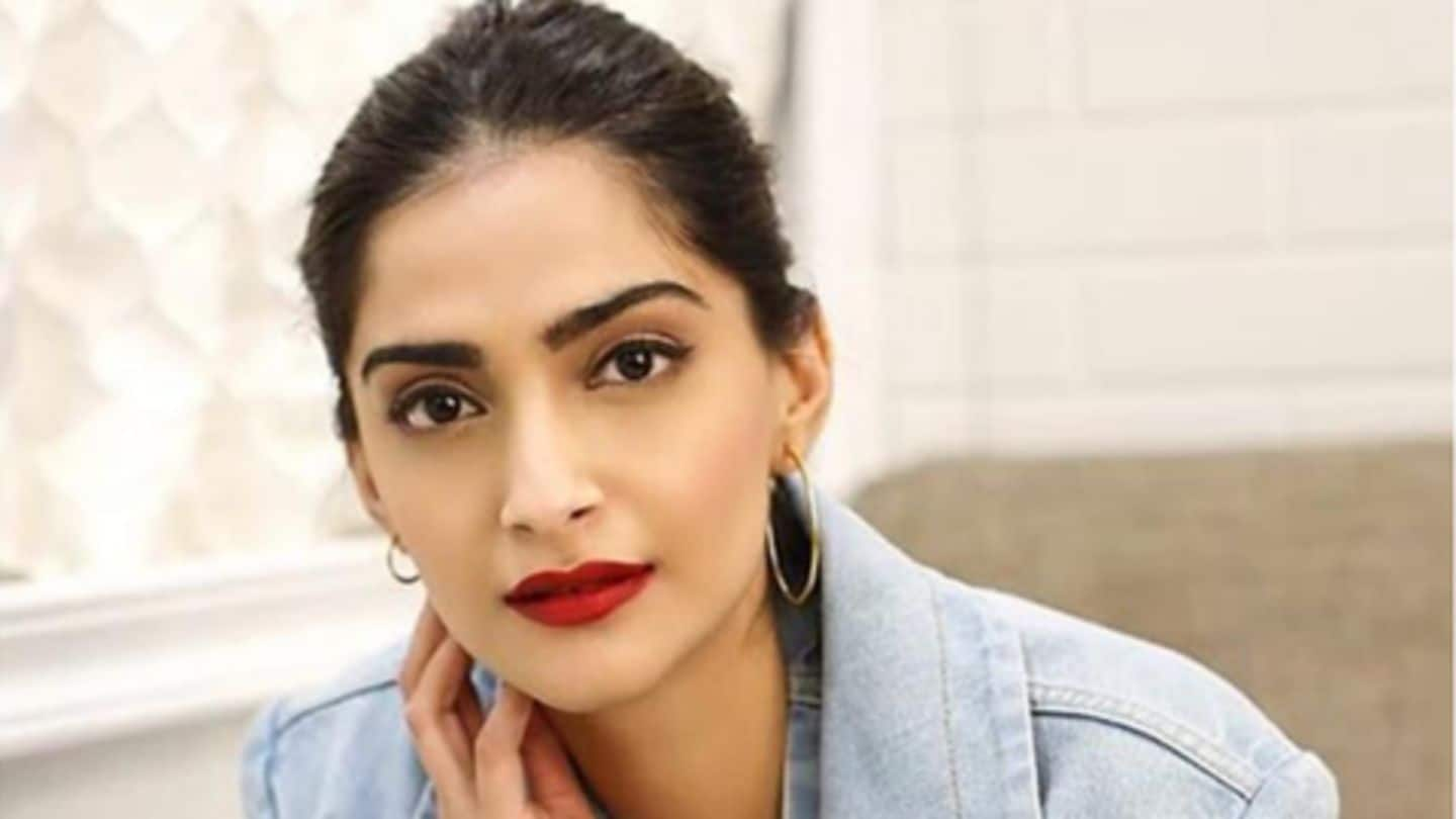 """Sonam Kapoor had the """"scariest experience"""" with Uber in London"""