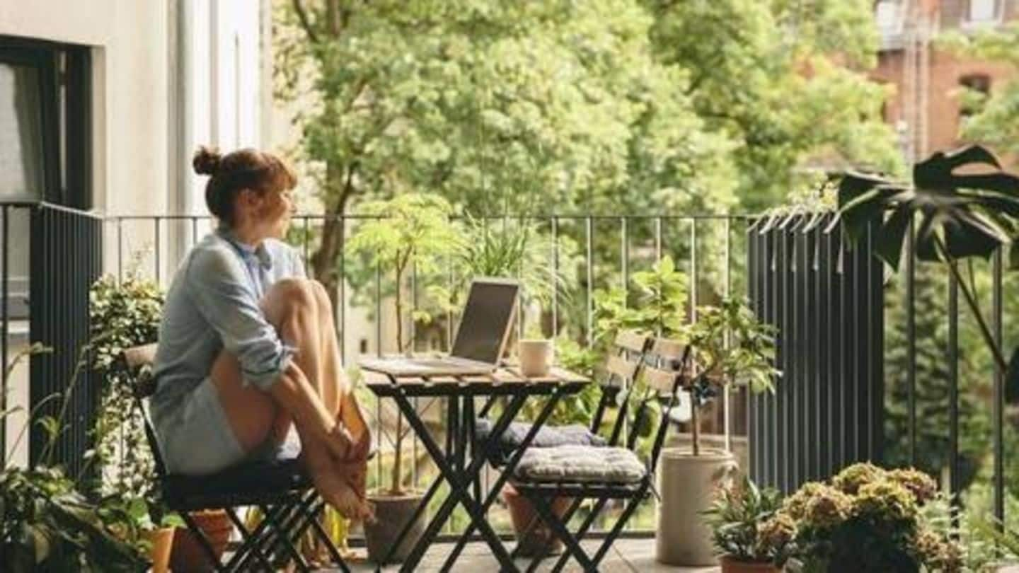Want to build a balcony garden? Here are some tips