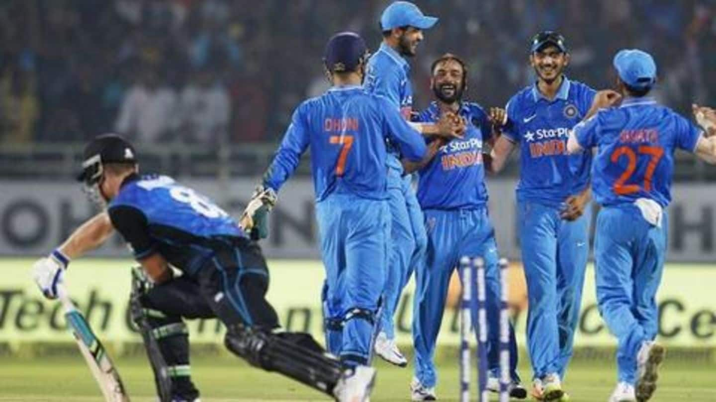 New Zealand cricket team trolled by police after ODI defeats
