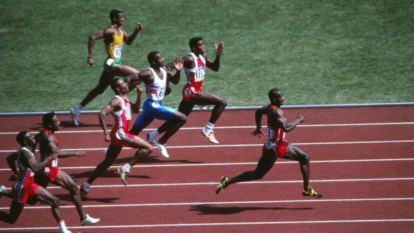 Ben Johnson's 1988 Olympics dope test reports were tampered with