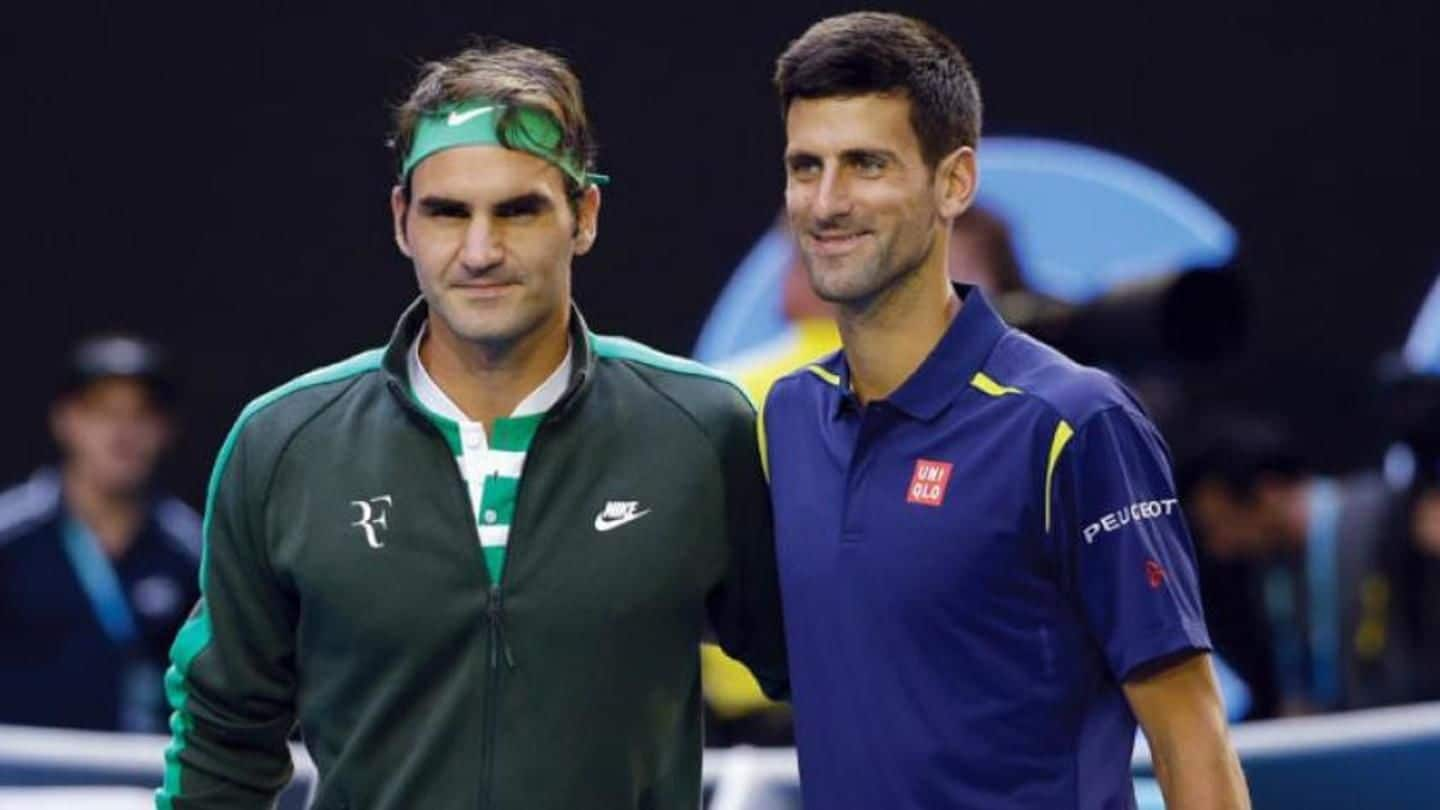 Federer and Djokovic to play doubles at Laver Cup