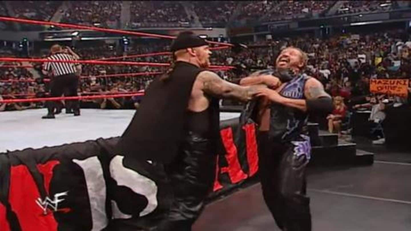 Taker destroyed Diamond Dallas Page's career in one night