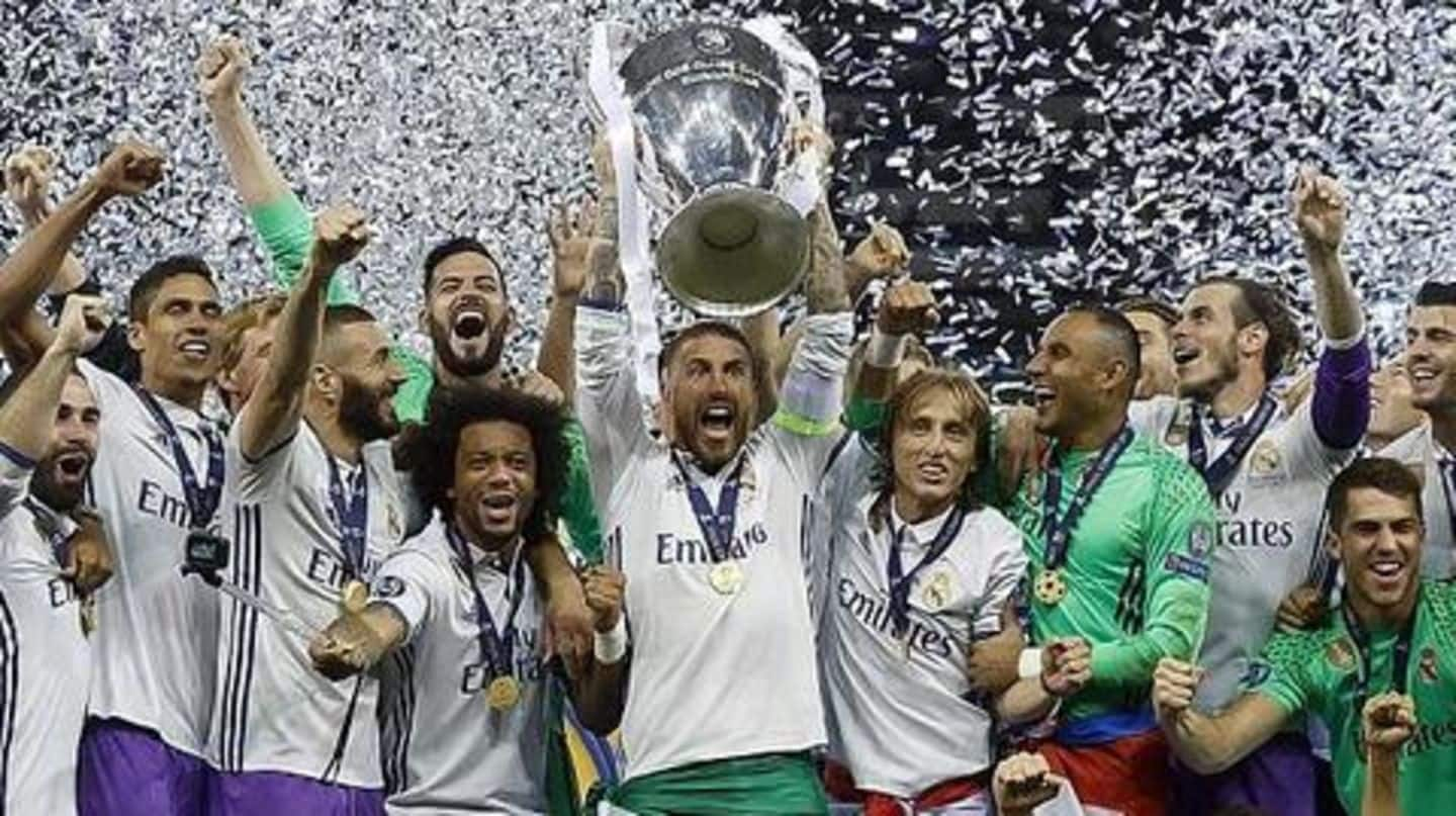 How much did football clubs earn from Champions League exploits?