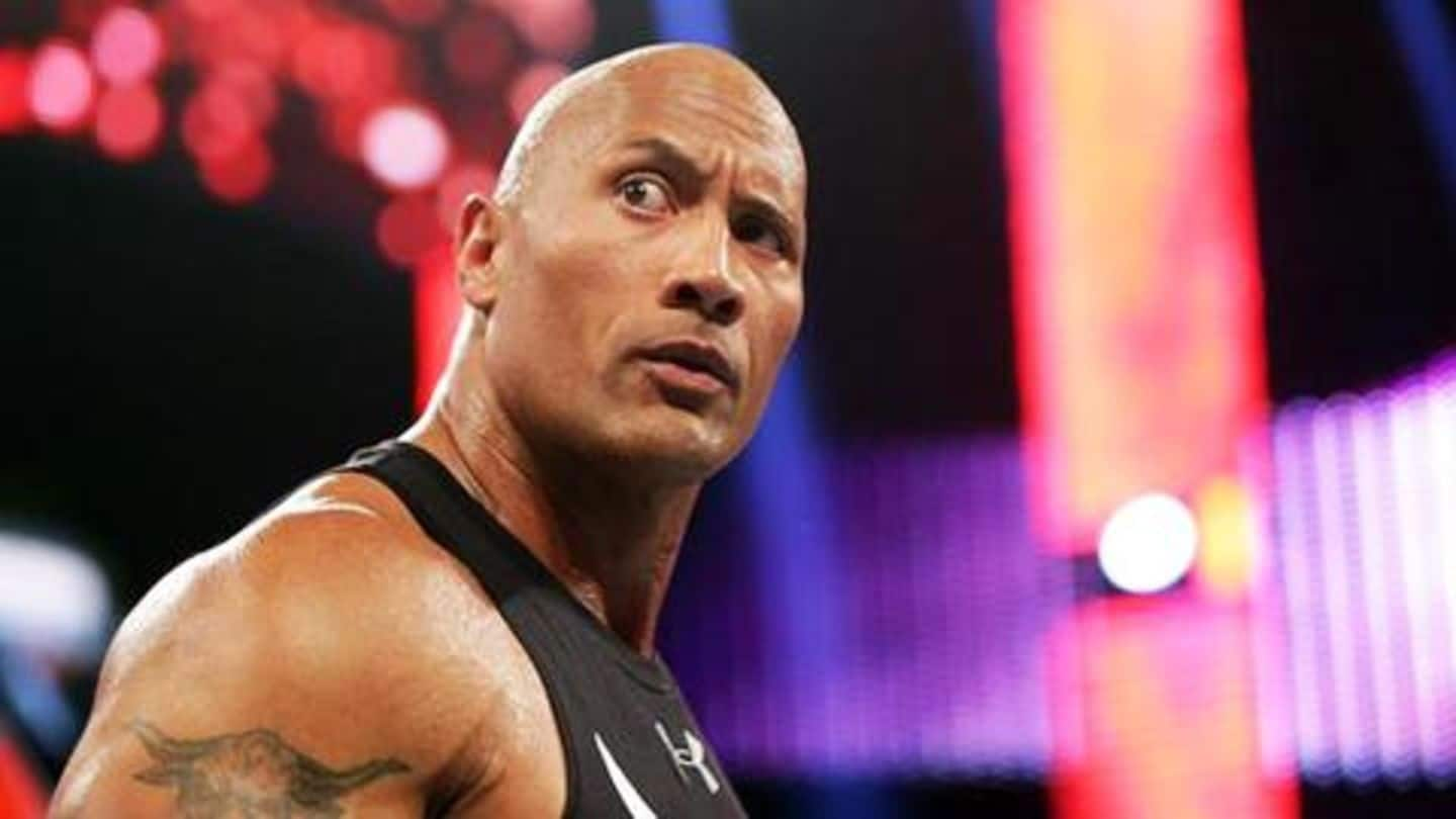 Five greatest WWE matches of The Rock