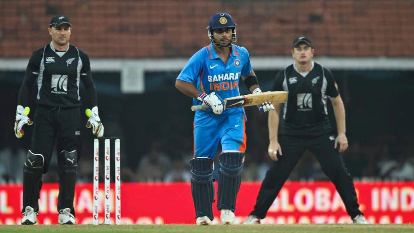 #IndiaInNewZealand: Schedule of 2019 tour announced