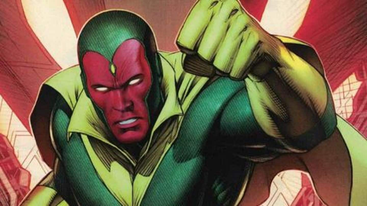 #ComicBytes: Is Vision the most powerful Avenger?