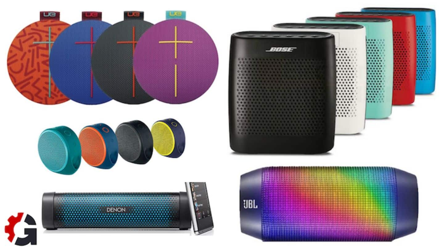 #TechBytes: Top 5 Bluetooth speakers under Rs. 10,000