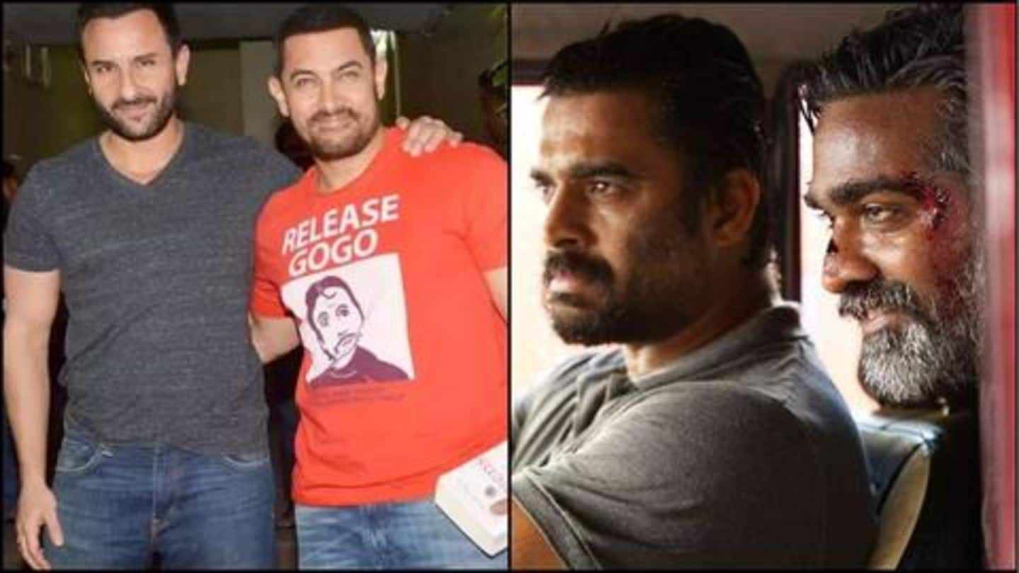 Aamir, Saif to reunite after 18-years for 'Vikram Vedha' remake