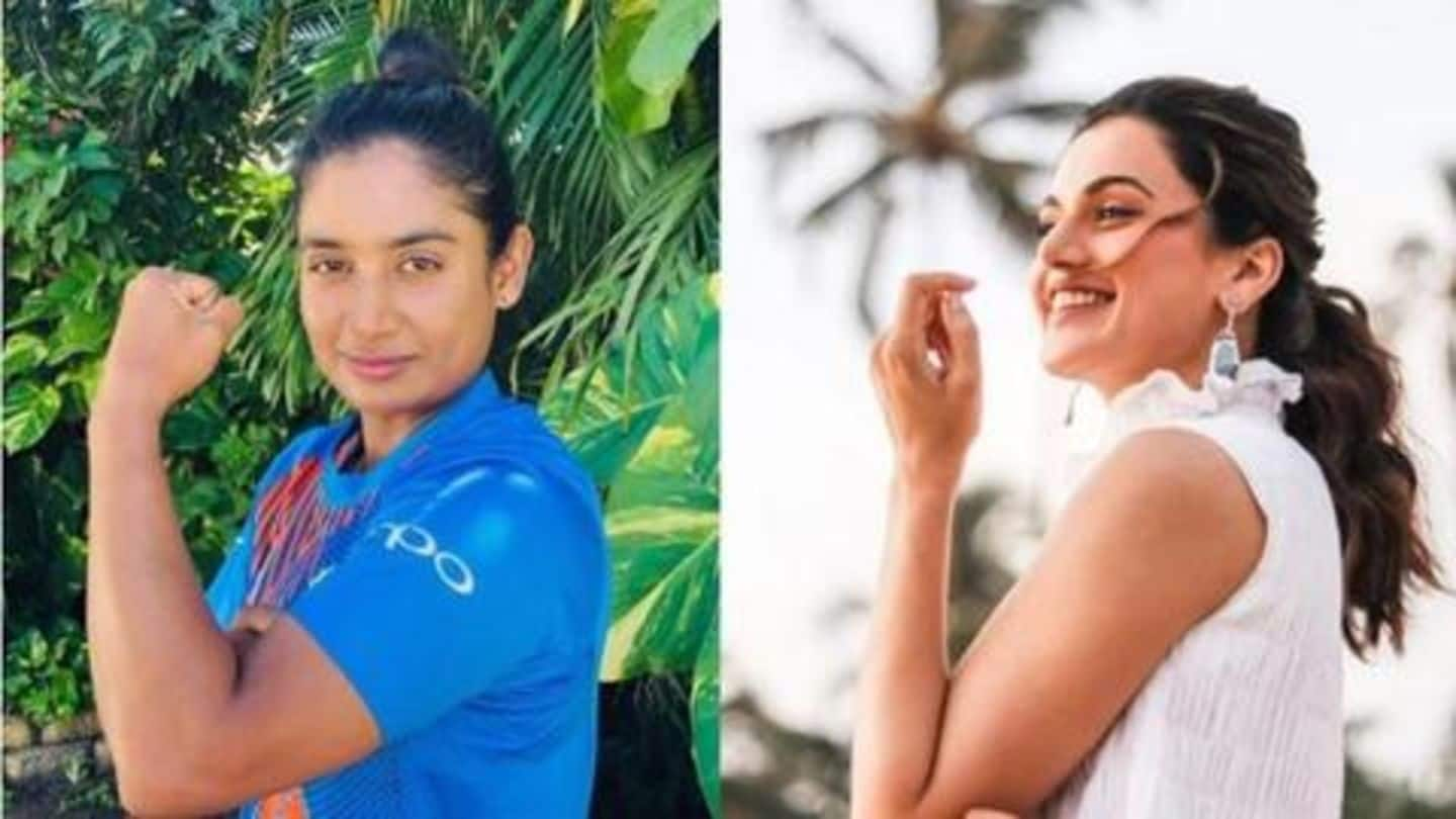 """Taapsee Pannu confirms """"being in talks"""" for Mithali Raj's biopic"""