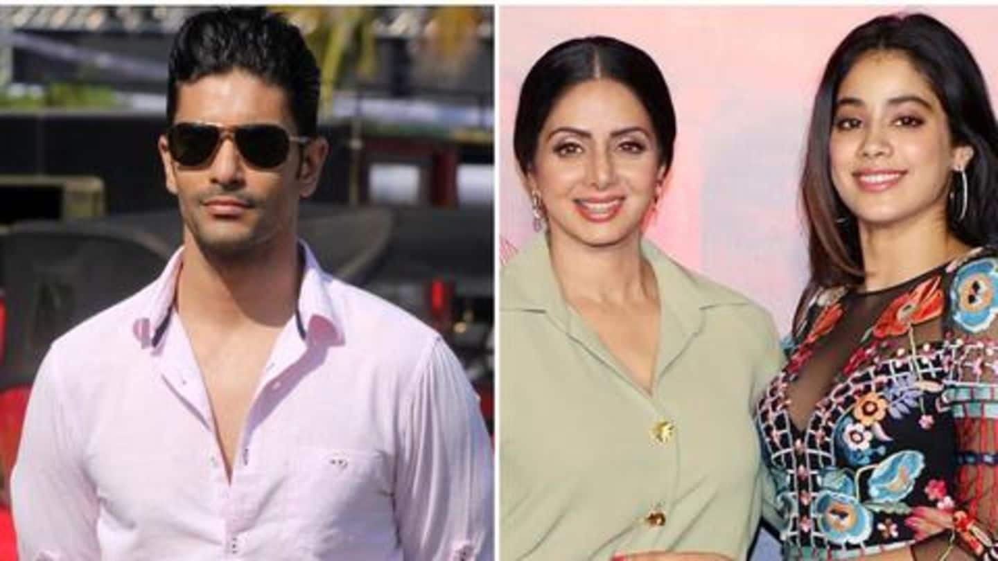 Can see a glimpse of Sridevi in Janhvi's eyes: Angad