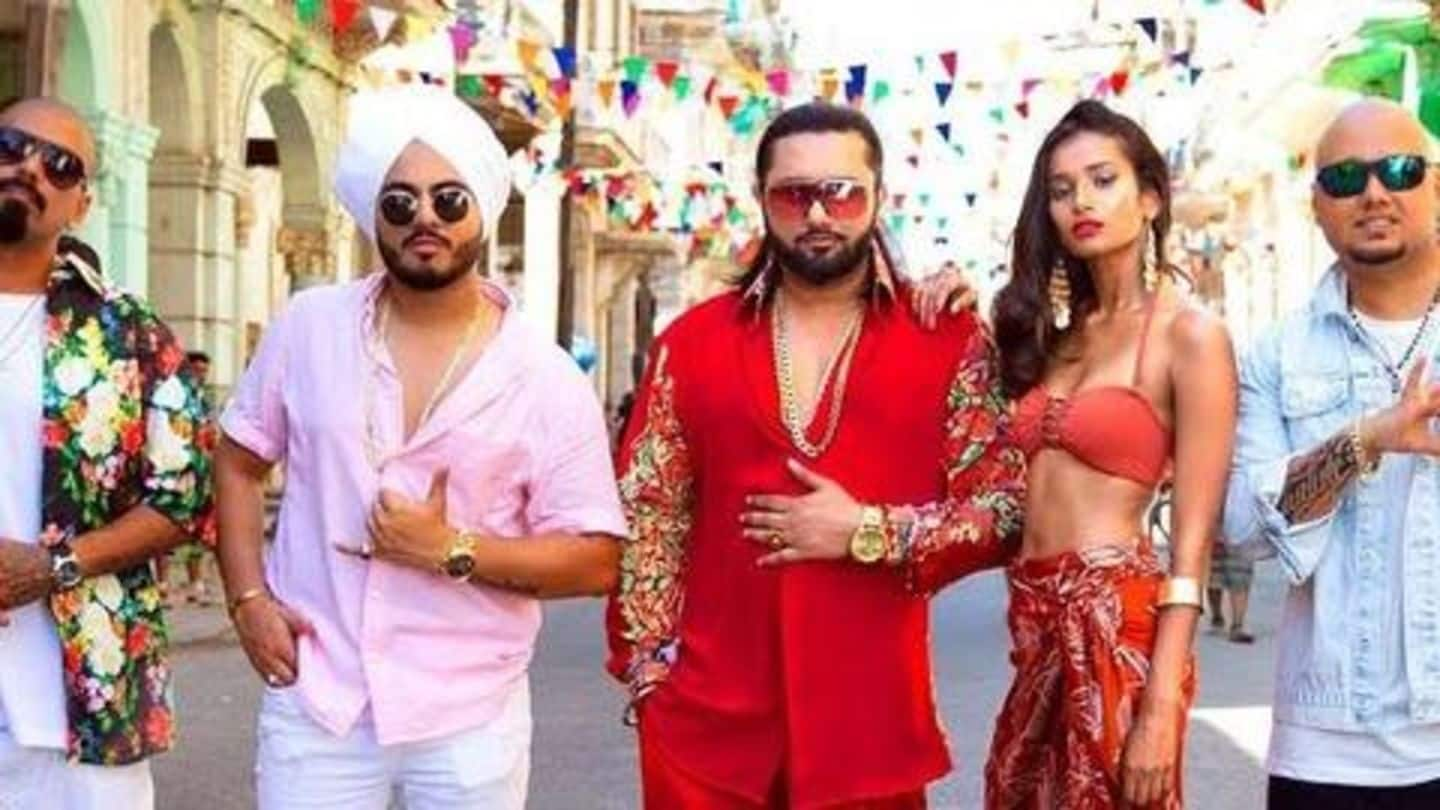 Rapper Honey Singh booked for vulgar lyrics in 'Makhna'