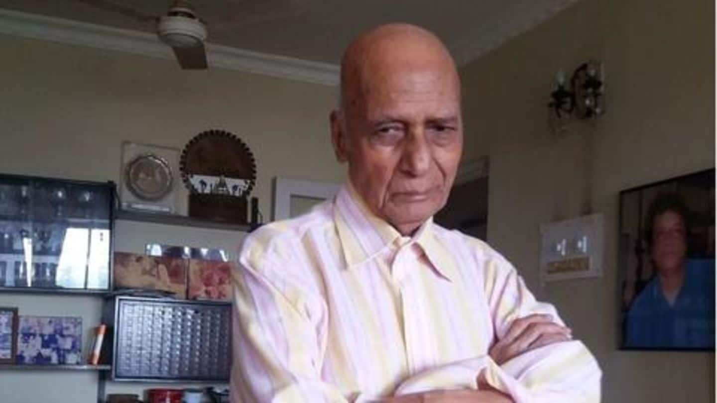 Veteran music composer Khayyam passes away due to lung infection