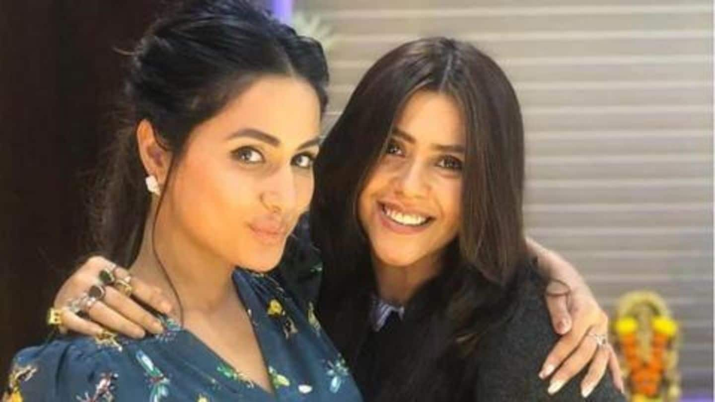 #KasautiiZindagiiKay: Is Hina Khan being replaced? Ekta Kapoor reveals truth