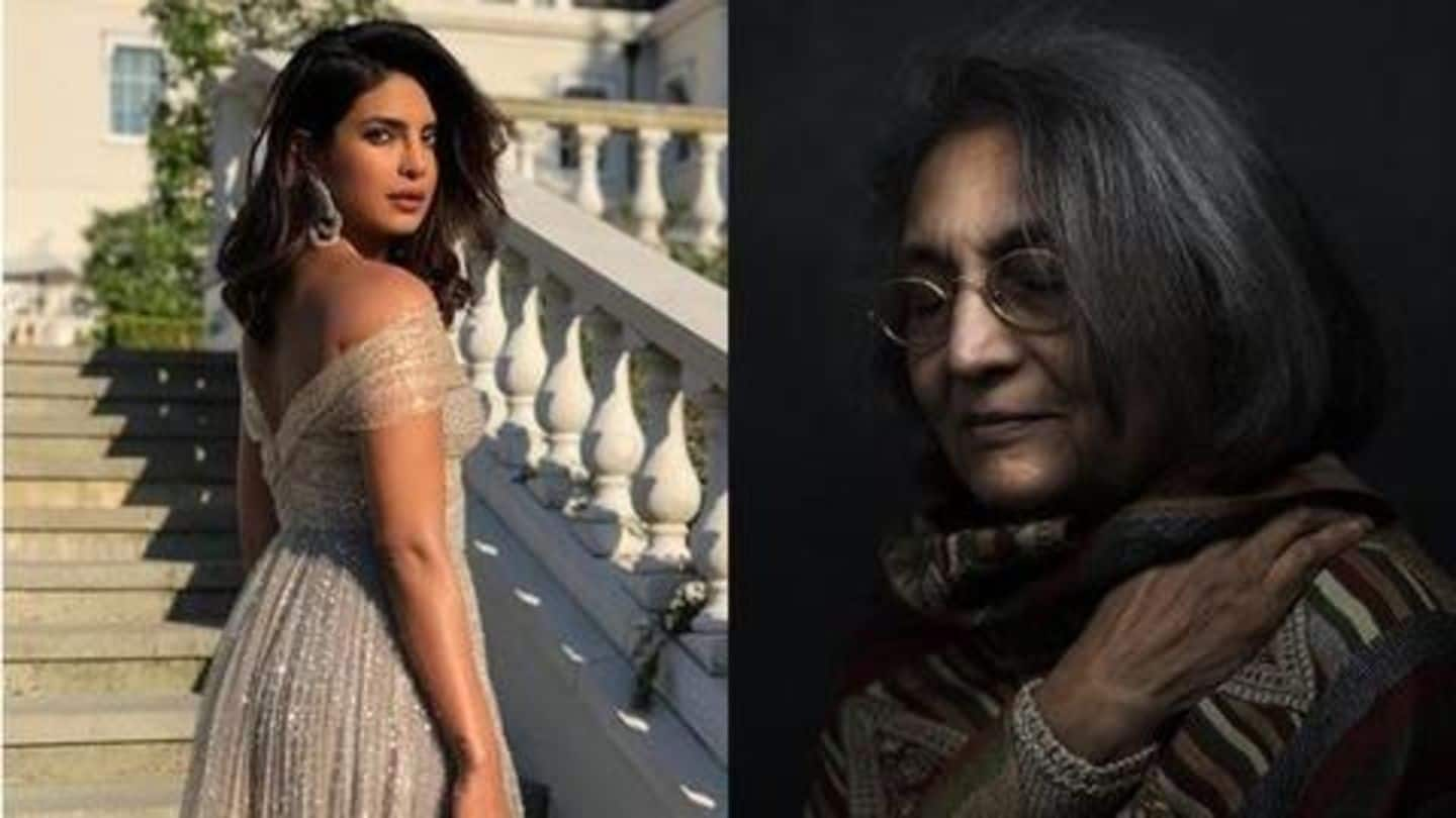 Priyanka confirms her next is on Osho-disciple Ma Anand Sheela