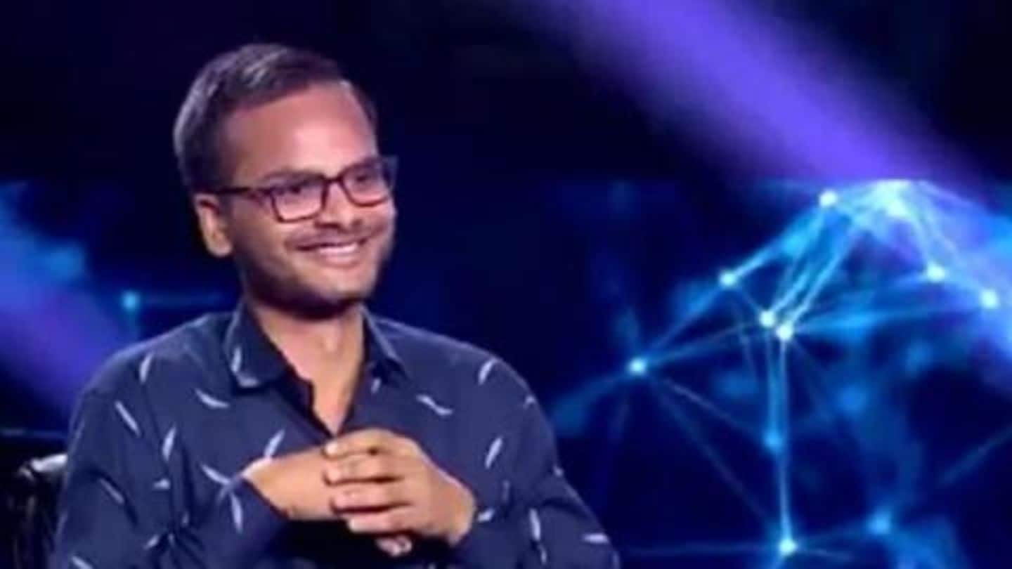 IAS aspirant Sanoj Raj becomes first crorepati of 'KBC11'
