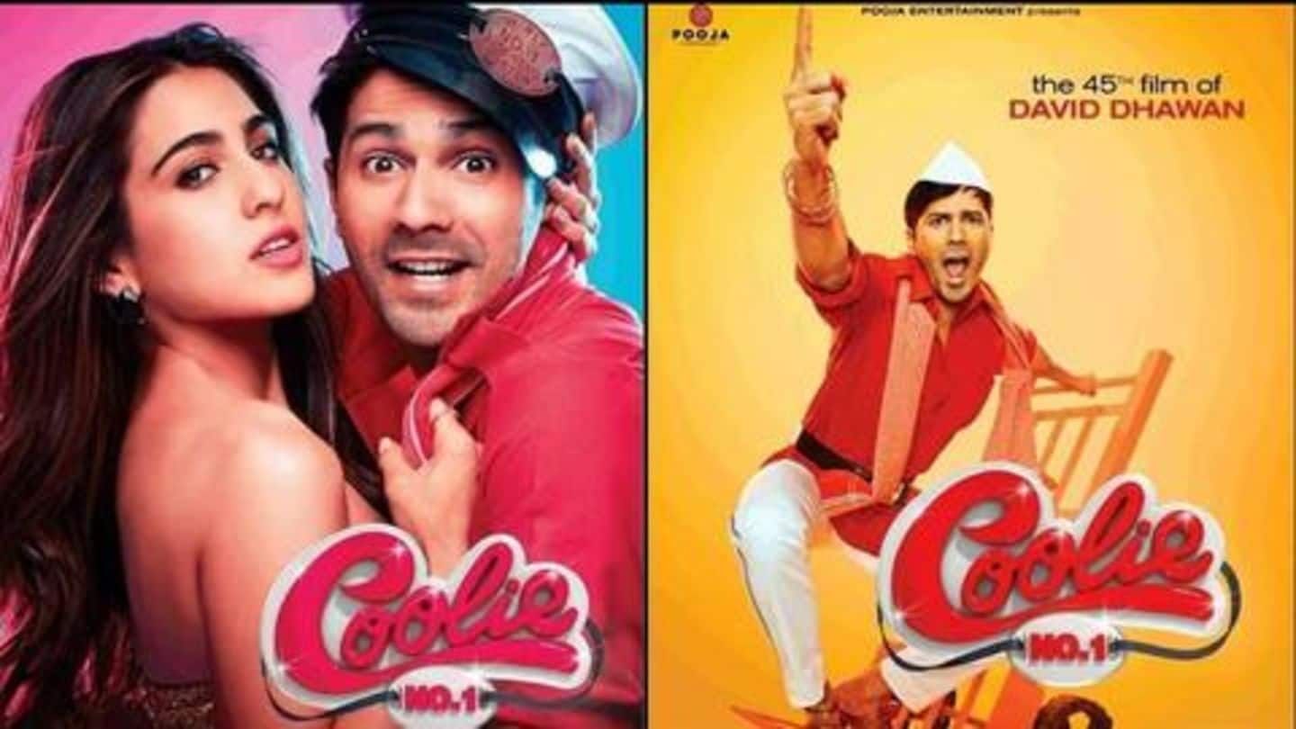 Makers suffered Rs. 2.5cr loss in 'Coolie No. 1' fire