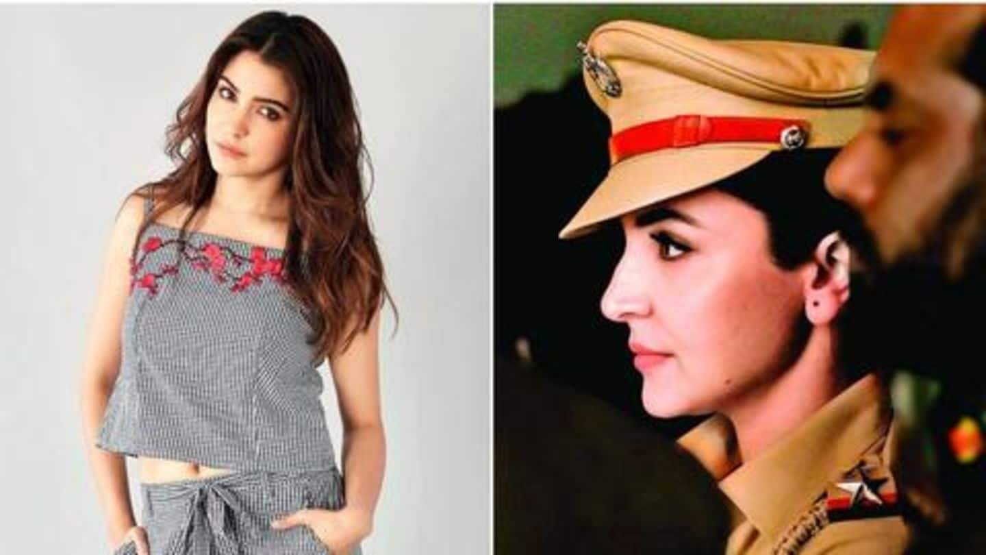 Anushka Sharma turns police officer for an ad shoot