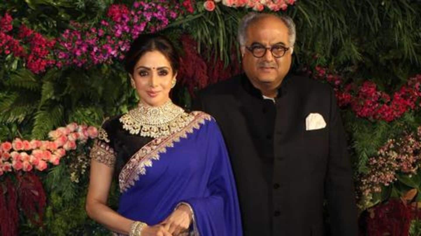 Sridevi's favorite saree auctioned, fetches Rs. 1.3 lakh