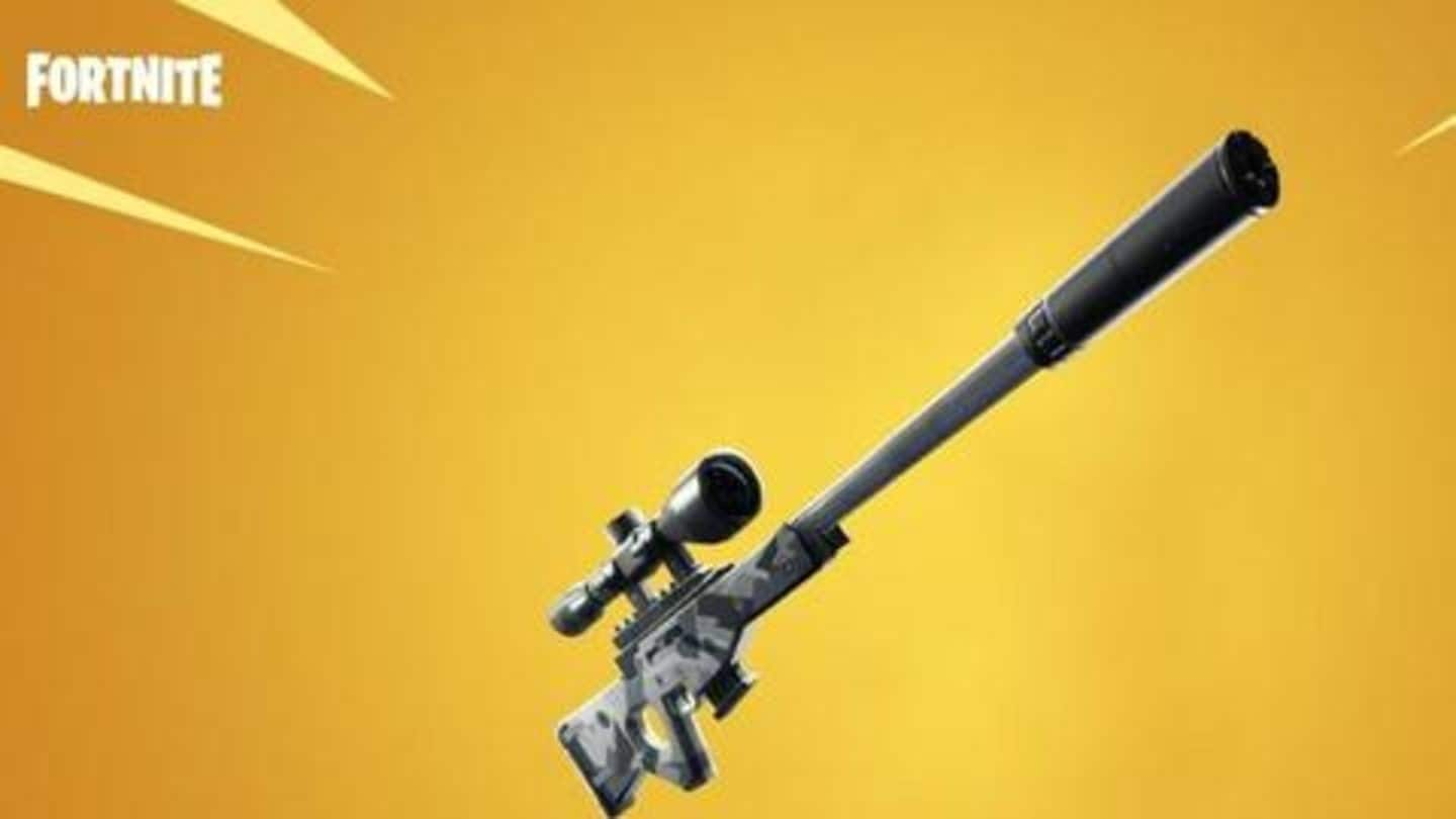 Gamingbytes Fortnite To Get New Suppressed Sniper Rifle