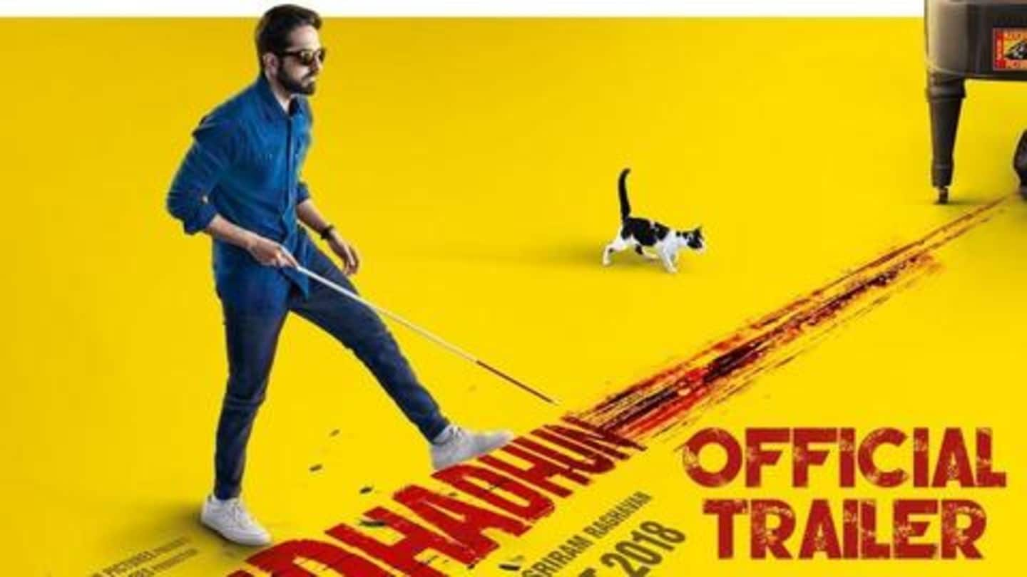 IMDb's top Indian movie of 2018 is Ayushmann Khurrana's 'Andhadhun'