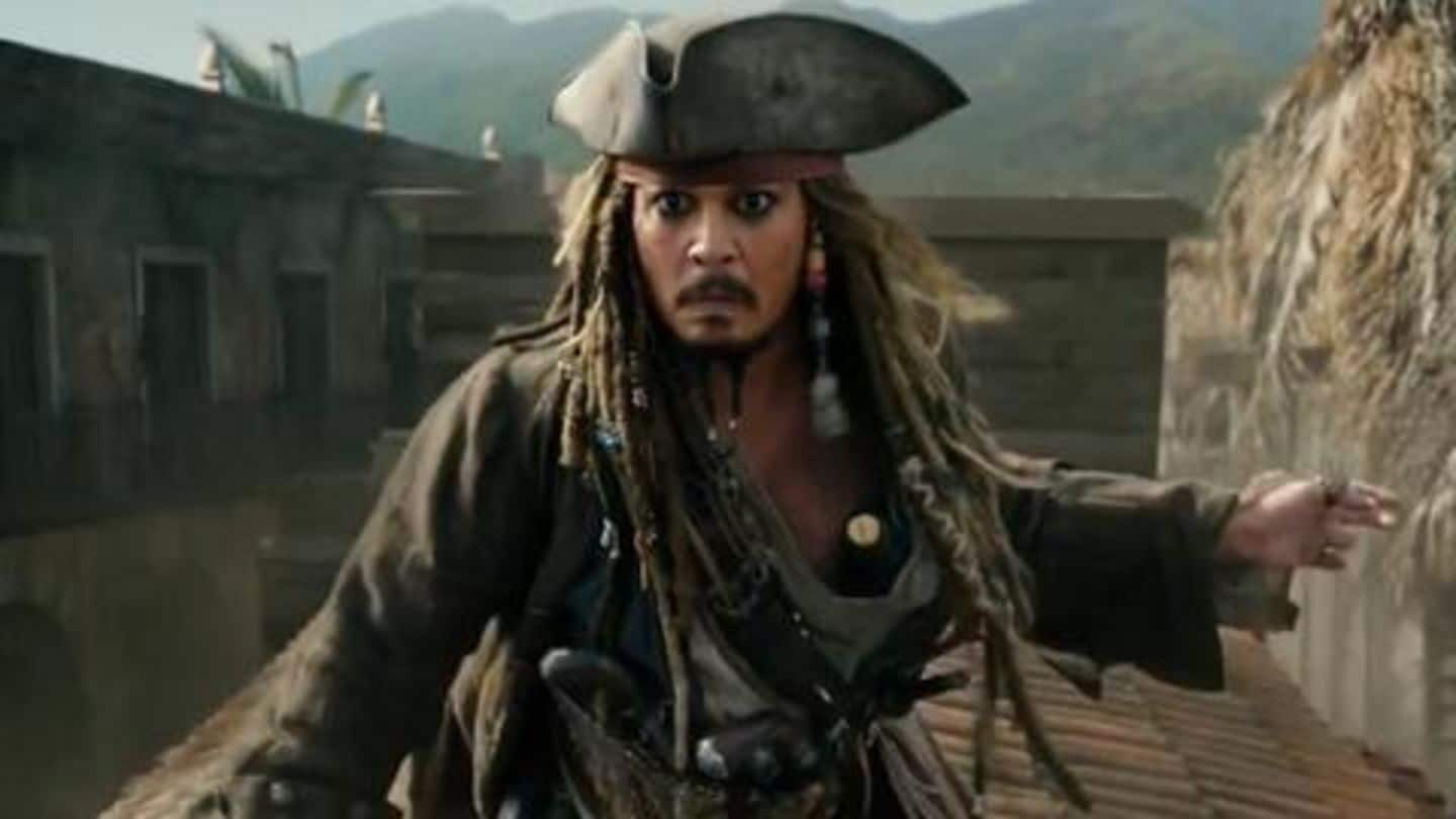 Johnny Depp officially dropped from 'Pirates of the Caribbean' franchise