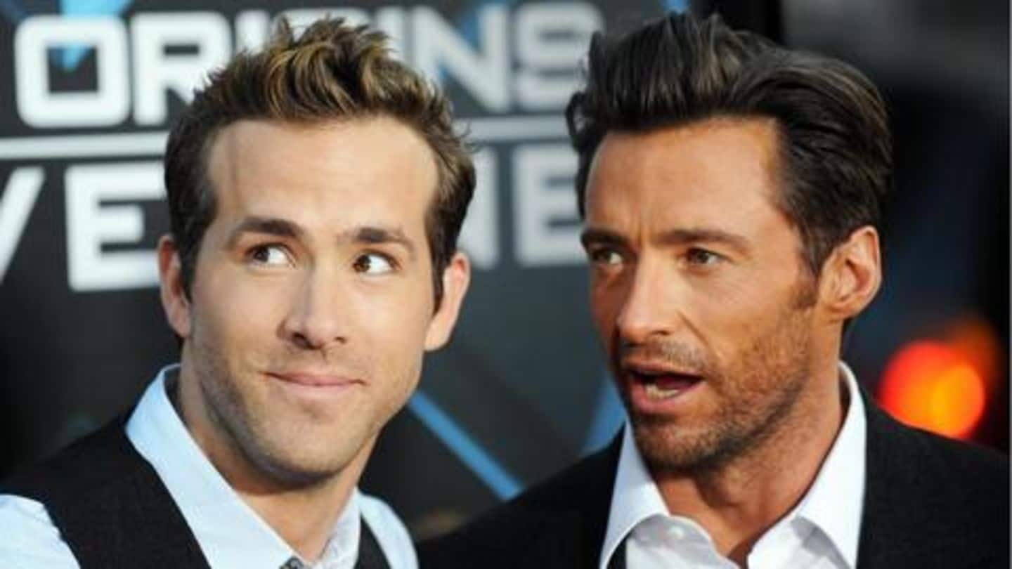 Ryan Reynolds trolls Hugh Jackman about upcoming movie