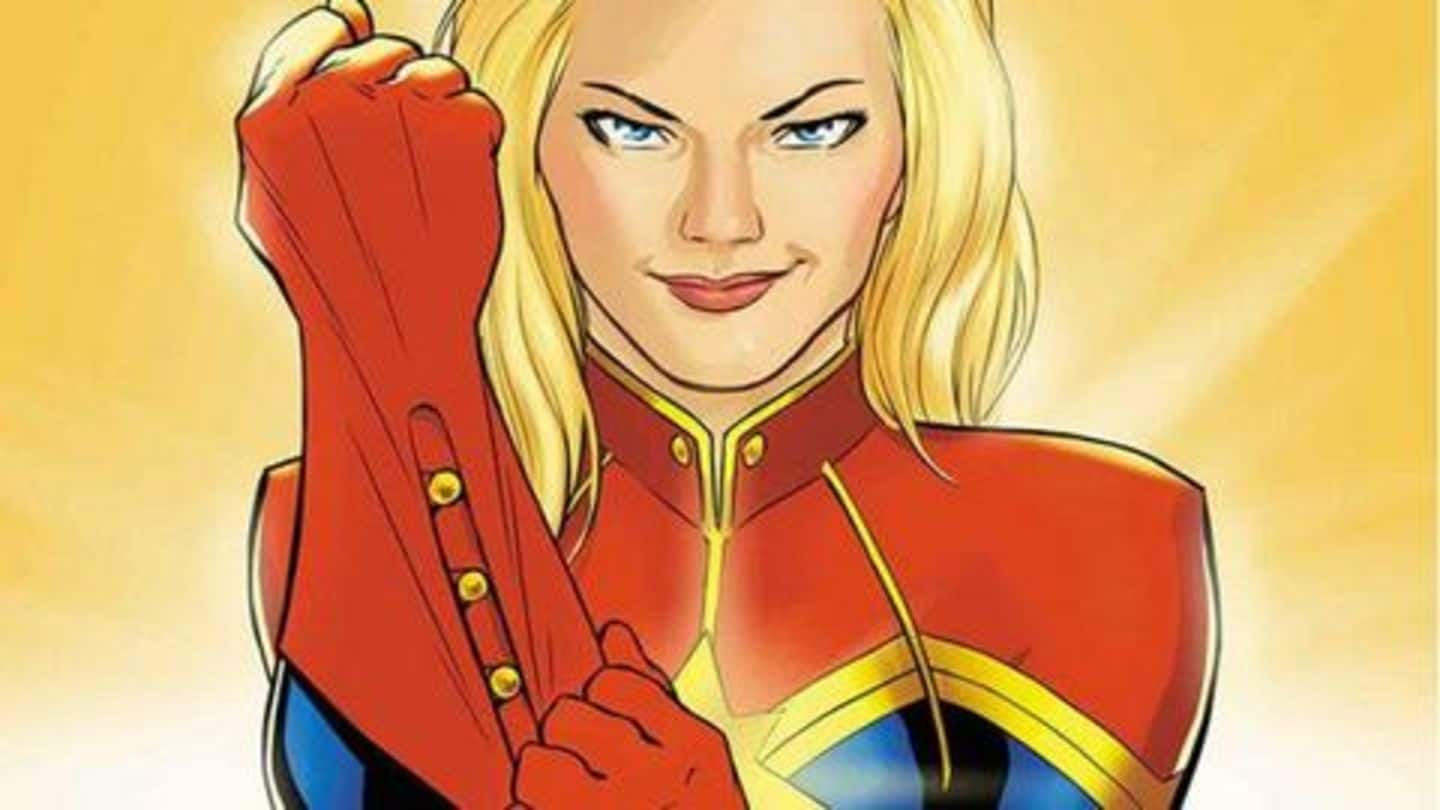 #ComicBytes: Five reasons Captain Marvel's body is weird