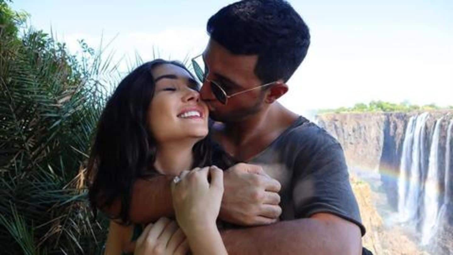 Amy Jackson gets engaged to longtime lover Geroge Panayiotou