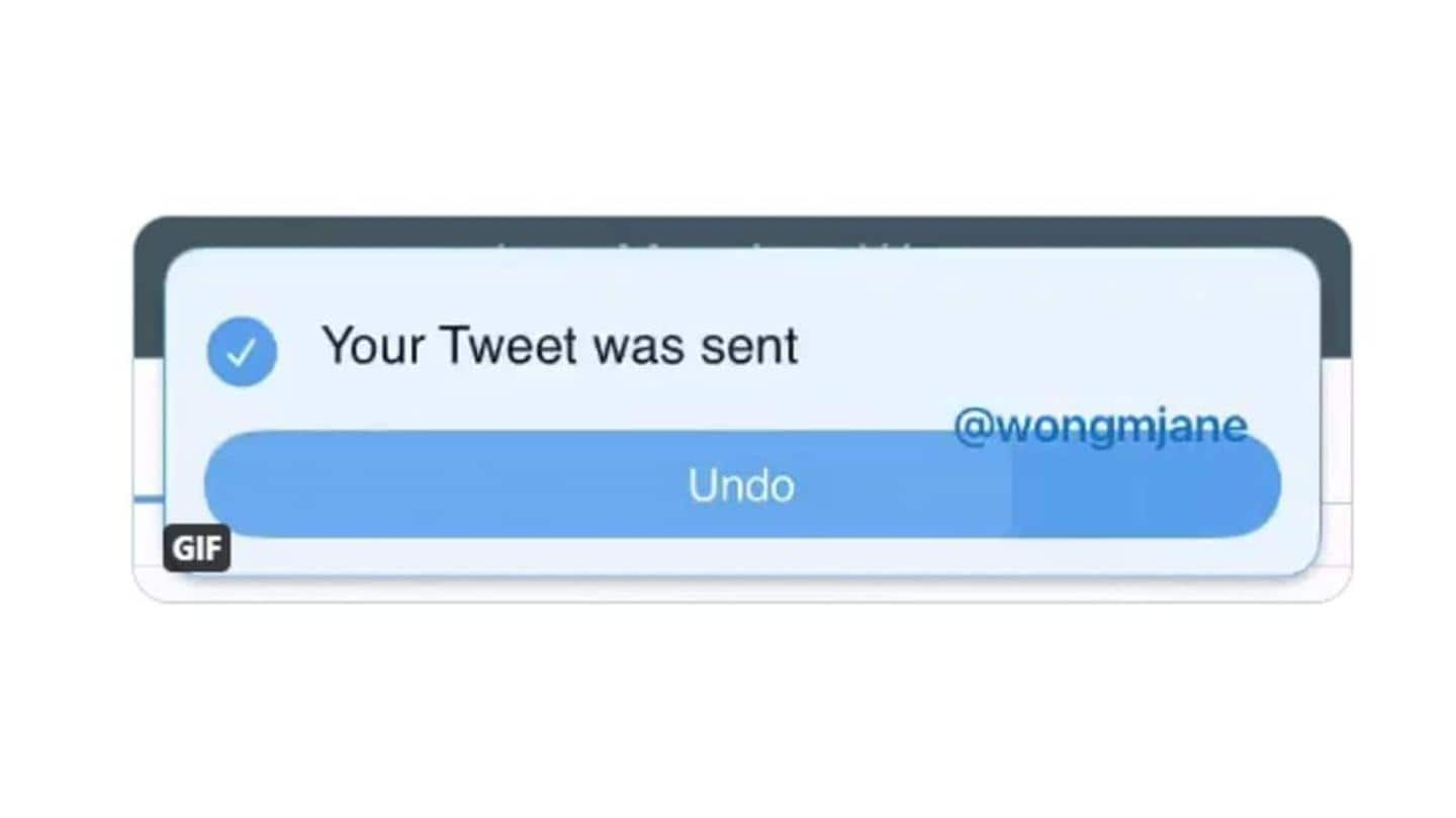 Button gives users few seconds to take tweet back