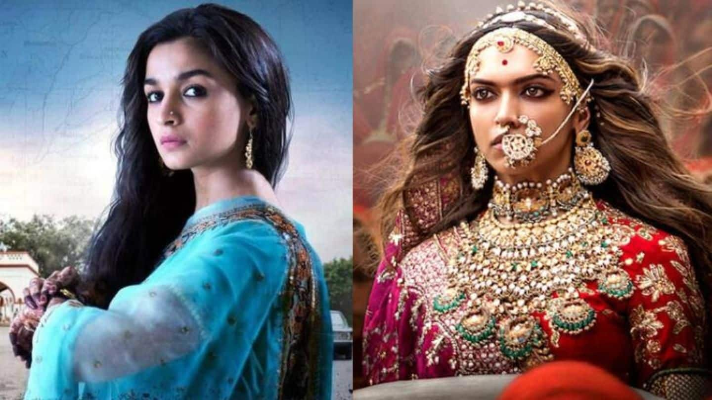 Oscars 2019: 'Raazi', 'Padmaavat' to be India's official entries?