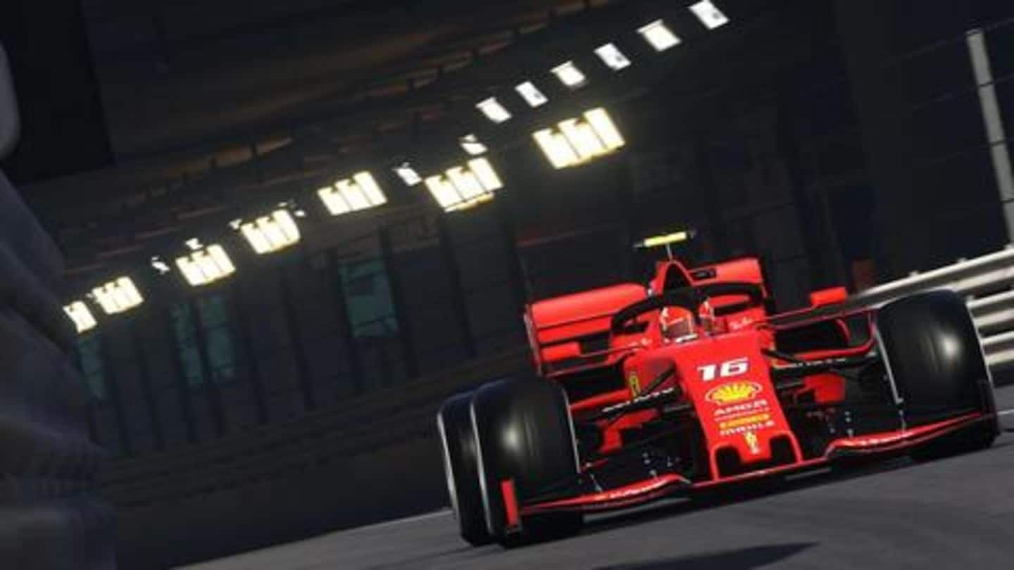 Amid coronavirus outbreak, F1 drivers will compete in 'virtual races'