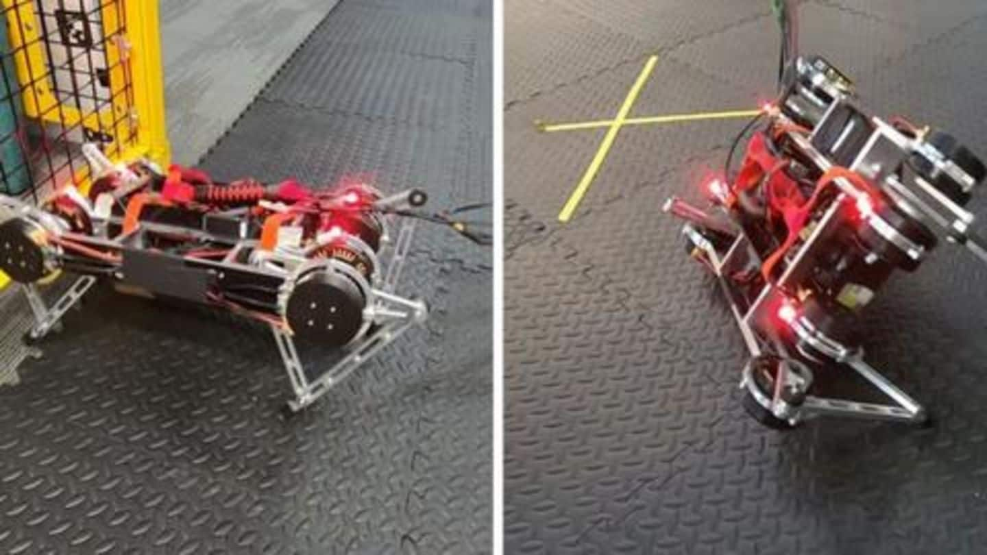 Google's AI is helping robots teach themselves how to walk