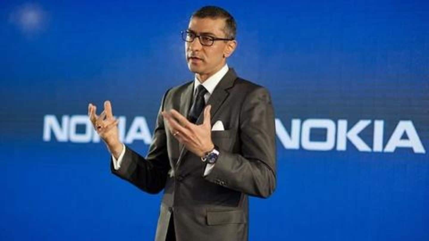 Pekka Lundmark replacing Rajeev Suri as CEO of Nokia
