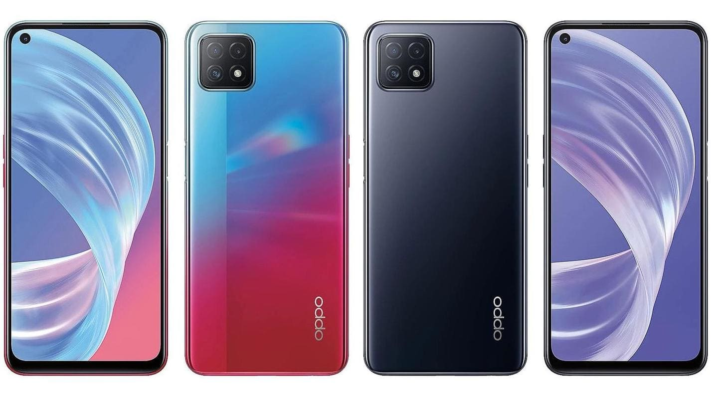 #LeakPeek: OPPO A73 5G's specifications and design leaked