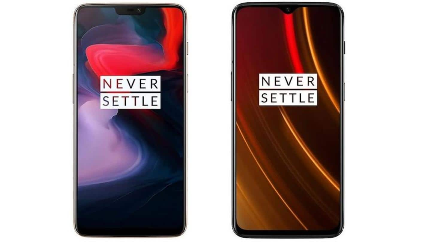 OnePlus releases OxygenOS 10.3.7 update for the 6 and 6T