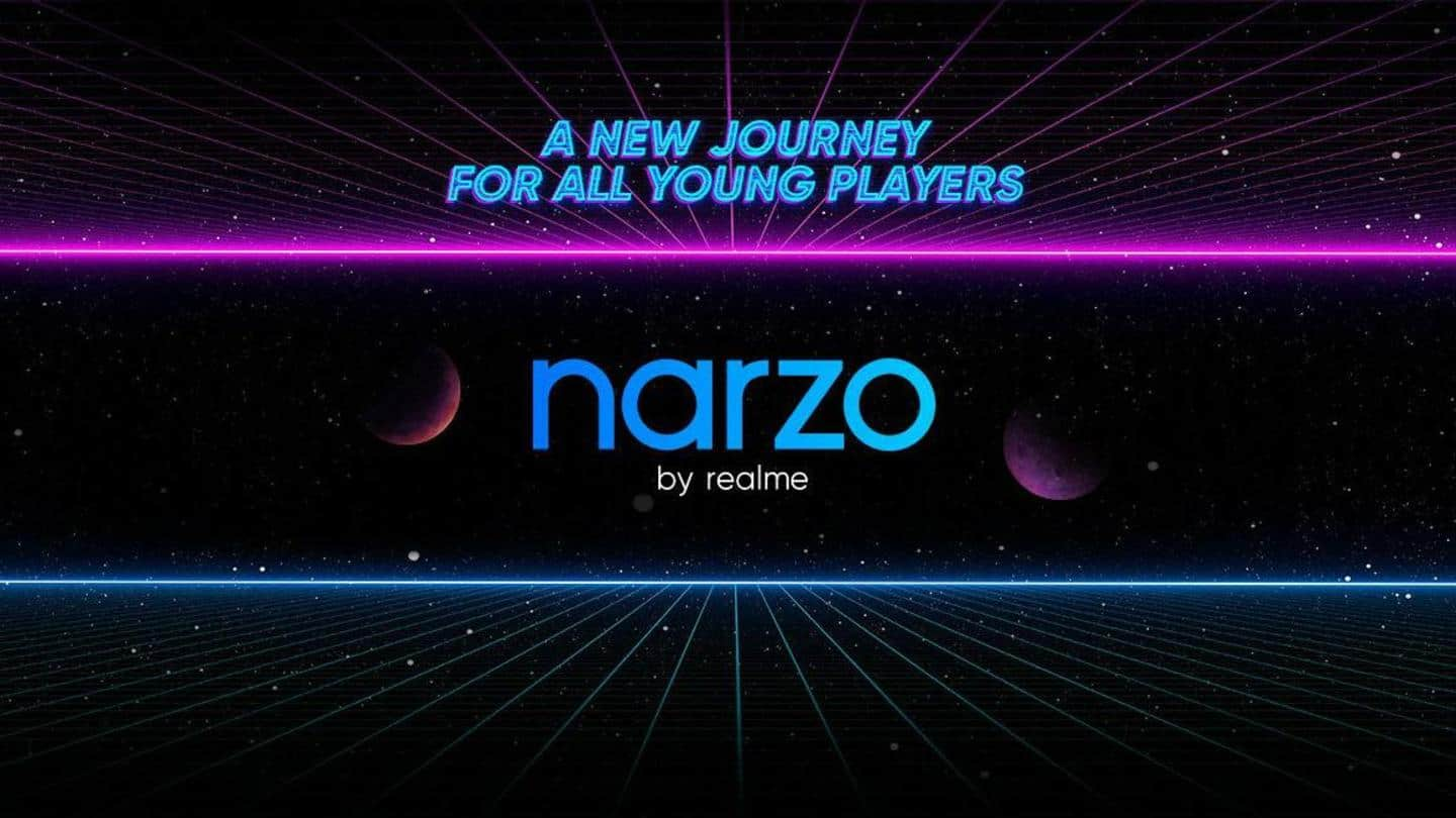 Realme Narzo 20 series goes official in India