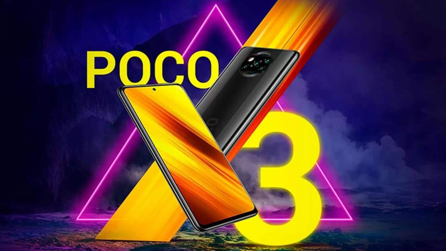 POCO X3, with Snapdragon 732G chipset, launched at Rs. 17,000