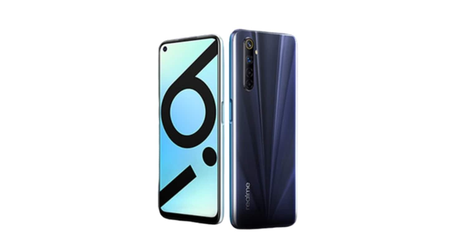 Realme 6i's first sale today at 12 pm via Flipkart