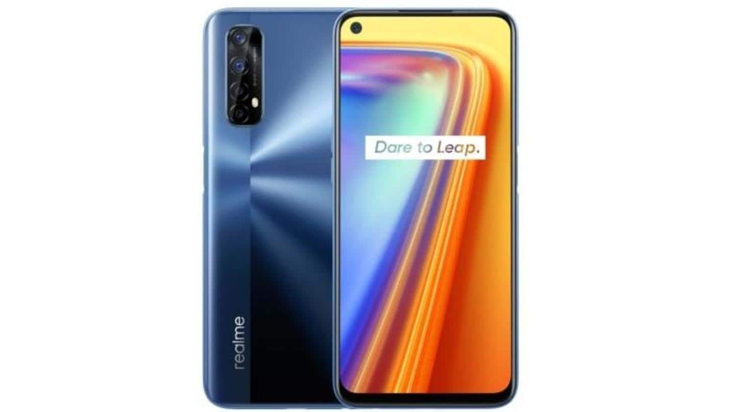 Realme 7 to go on sale today at 12pm