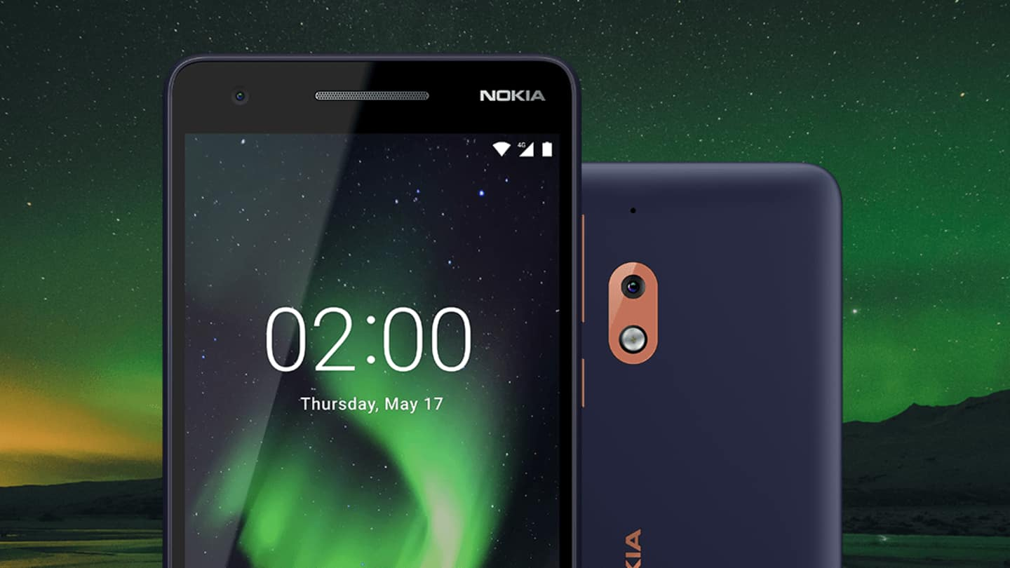 Nokia 2.1 starts receiving Android 10 (Go edition) update