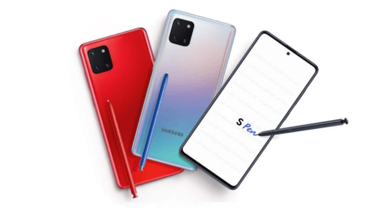 #DealOfTheDay: Samsung Galaxy Note10 Lite available with Rs. 8,000 off